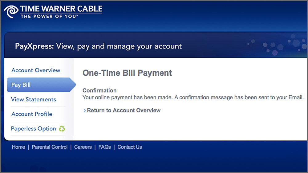 Time Warner Cable Online Bill Payment Still Questionable