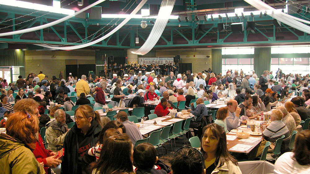 Pancake Day: Festival Hall in Racine, WI 2007
