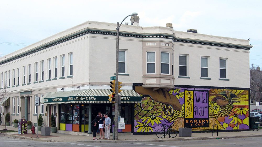 Wild Flour Bakery and Cafe in Milwaukee's Bay View neighborhood