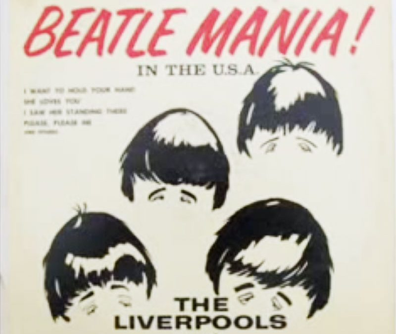 Album cover: Beatle Mania! by The Liverpools